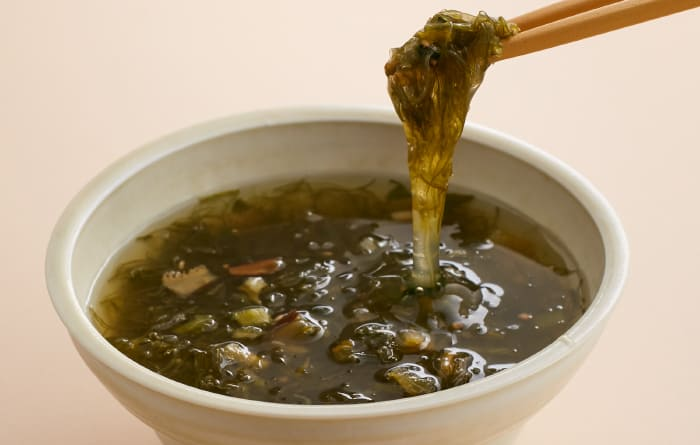 がごめ昆布スープ(ゆず入り)